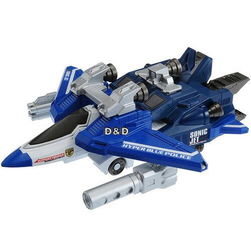 《 TOMICA 》緊急救援隊 變形機器人 - 藍色特警飛機