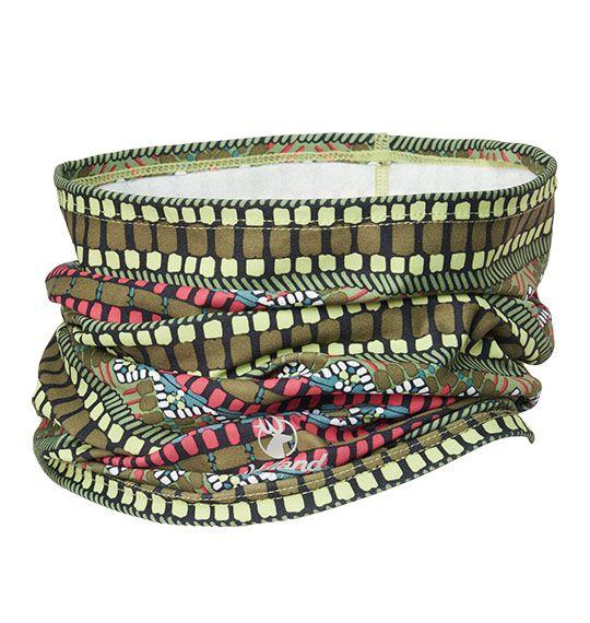 [ WILDLAND 荒野 ] 時尚印花保暖圍脖 / 頭巾 圍巾 / 0A02023