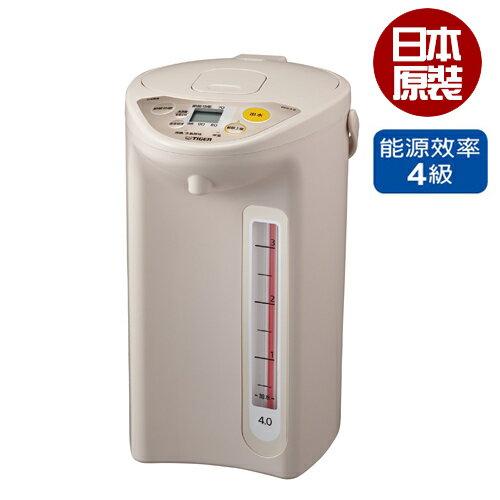 虎牌4L微電腦液晶熱水瓶PDR-S40R-CU【愛買】