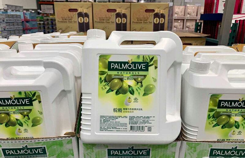 [COSCO代購] 促銷到7月27日 C214224 PALMOLIVE SHOWER CREAM 棕欖保濕沐浴乳-橄欖牛奶 4公升