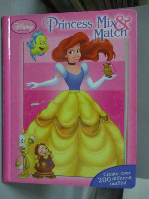 ~書寶 書T1/少年童書_ZAM~Pretty Princess Mix   Match_