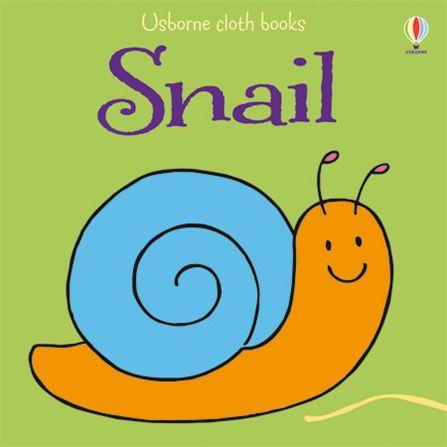 Cloth Snail 小蝸牛可愛布書
