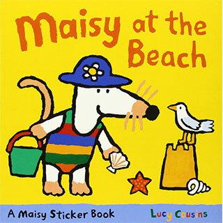 Maisy At The Beach Sticker Book 波波到海灘玩耍貼紙書