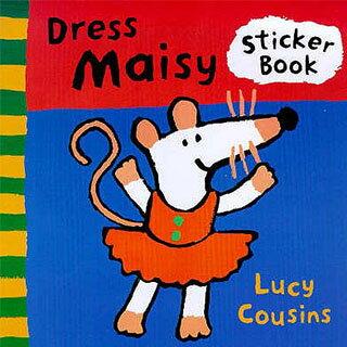 Dress Maisy Sticker Book 替波波穿衣服貼紙書