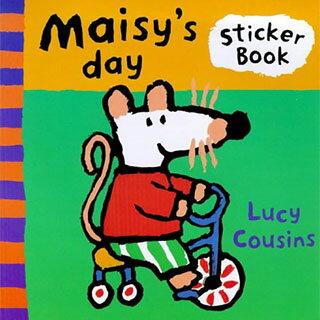 Maisy's Day Sticker Book 波波的一天貼紙書