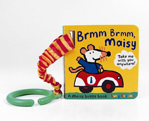 Brmm Brmm,Maisy 波波的交通工具聲音模仿硬頁小書