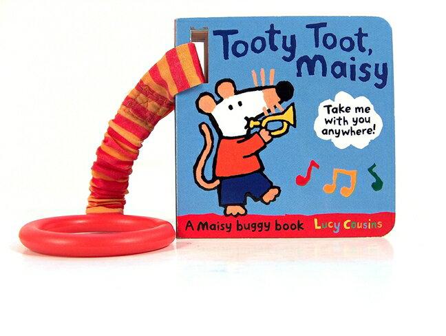 Tooty Toot,Maisy 波波的樂器聲音模仿硬頁小書