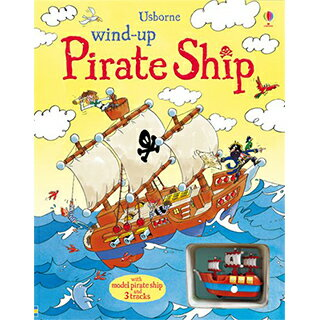 Wind-Up Pirate Ship 車車書:海盜船