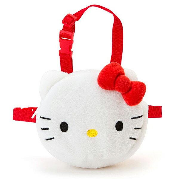 【真愛日本】15091600034小背包-大臉紅結 三麗鷗 Hello Kitty 凱蒂貓 犬用背包 寵物用品