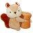 可愛松鼠抱枕毯  珊瑚毯 被子 娃娃 玩偶 空調毯 毛毯 限時免運 1