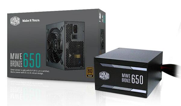 【迪特軍3C】COOLMASTERMWE系列MWEBronze650電源供應器PC電源供應器POWER