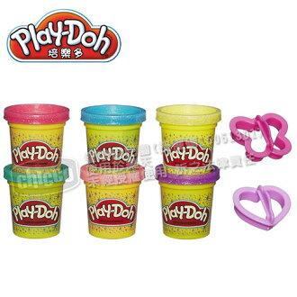 Play-Doh培樂多 閃亮黏土六色黏土組【悅兒園婦幼生活館】