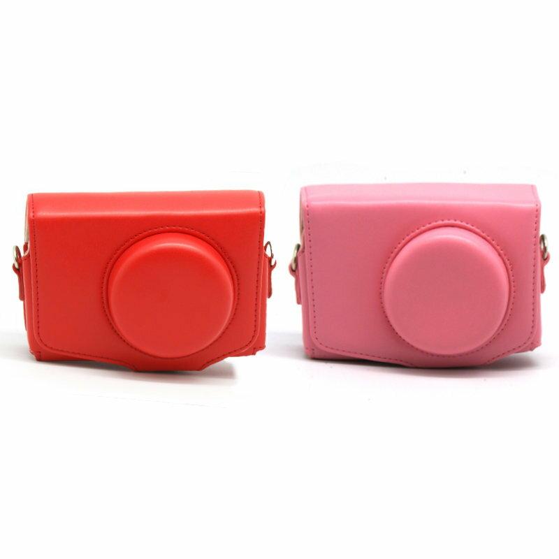 *╯新風尚潮流╭*For Samsung EX1 EX2 EX2F 馬卡龍色系 一件式復古皮套 相機包 全新登場 EX1