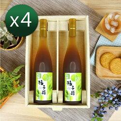 【醋桶子】健康果醋2入禮盒組 內含600mlx2 種類可任搭 下單後務必備註種類