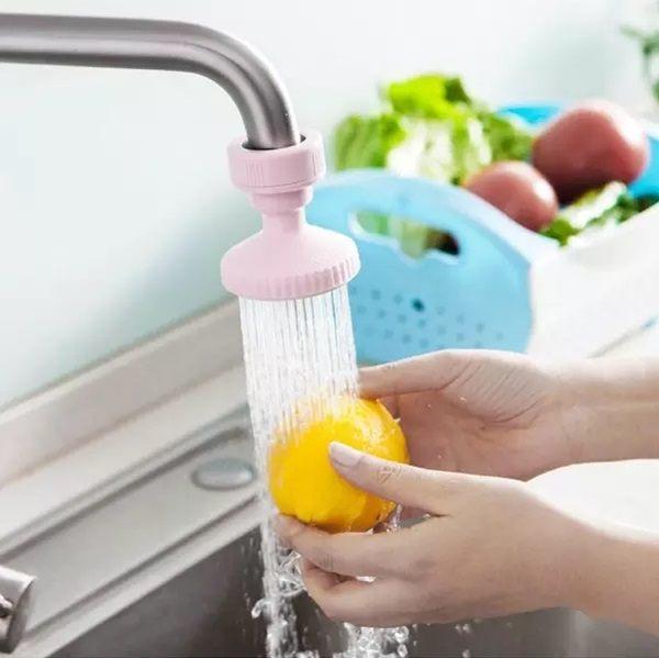 ●MY COLOR●水龍頭防濺潔水器 花灑 廚房 過濾 調節 噴灑 濾水 節約 自來水 省水 環保【L141】