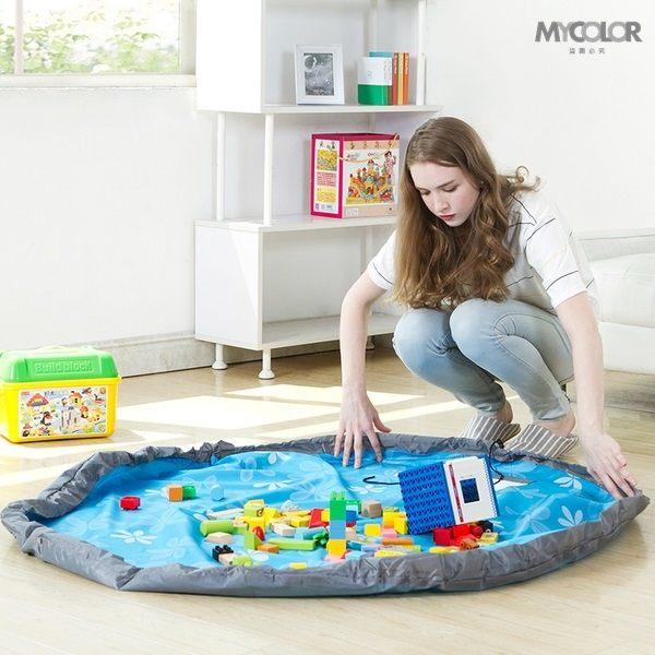 ~MY COLOR~兒童玩具收納袋 SAFEBET 便攜 迅速 玩具袋 整理 玩具墊 分類