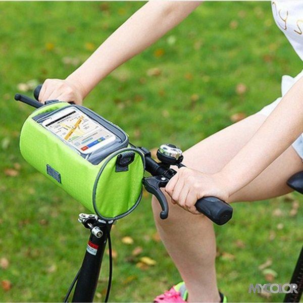 ~MY COLOR~多 可觸屏筒包 SAFEBET 自行車 腳踏車   斜背包 騎行 手機