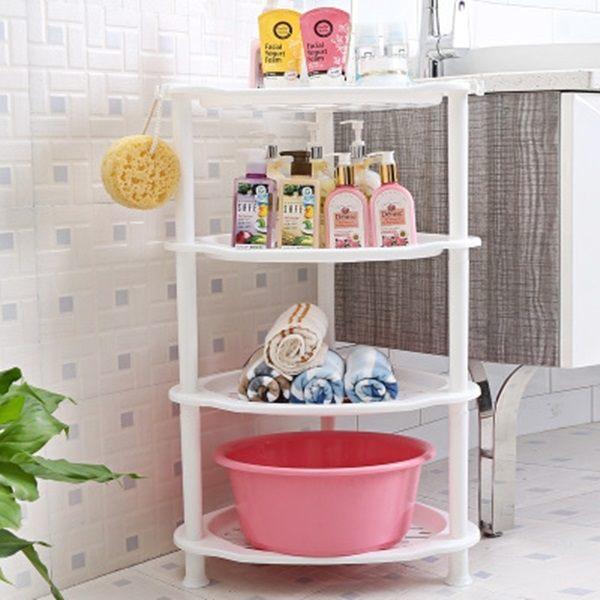 ~MY COLOR~居家多用置物架 落地 廚房 衛浴 分層 架子 櫃子 收納 儲物 清潔