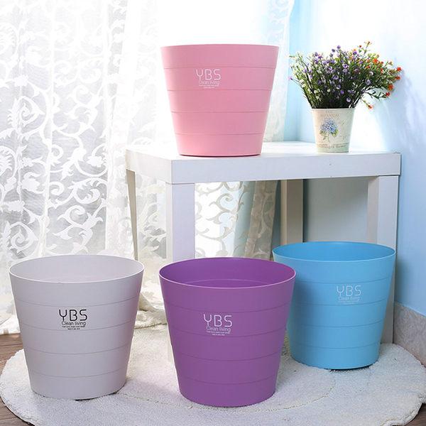 Mycolor:●MYCOLOR●時尚無蓋垃圾桶歐式收納筒家用時尚辦公室雜物分類落地垃圾袋【A09-2】