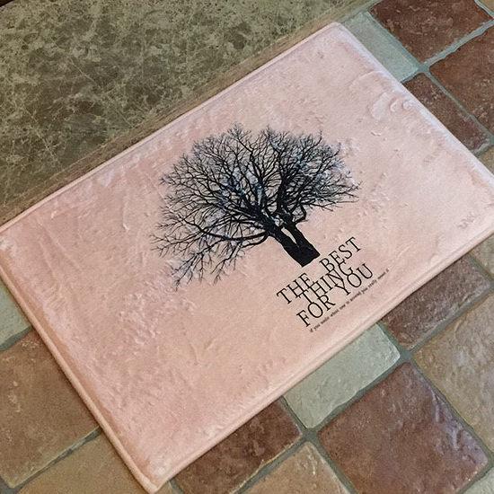 ~MY COLOR~枯樹剪影圖案地墊 短  門墊 腳墊 地毯 玄關 浴室 廚房 臥室 客廳