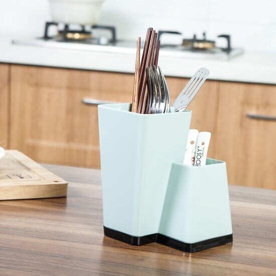 ~MY COLOR~廚房餐具收納筒 多 筷子 湯匙 叉子 餐桌 文具 鉛筆 筆筒 植栽 ~