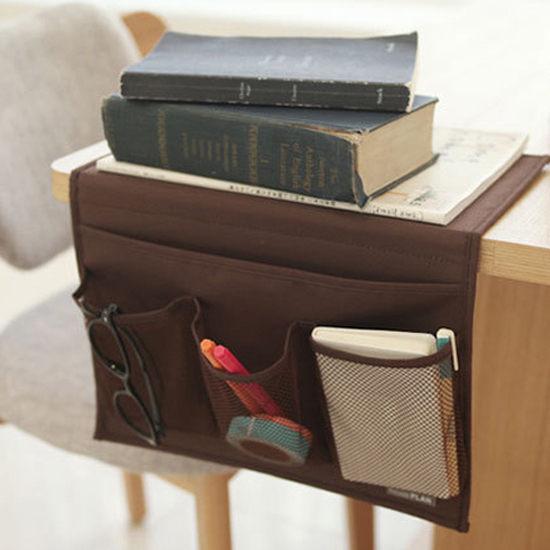 ●MY COLOR●牛津布收納插袋 桌邊 桌櫃 床邊 雜物 縫隙 沙發 床 網袋 分格 置物 櫥櫃【J66】