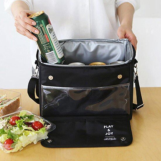 ●MY COLOR●多功能保冷保溫袋 車用 IPAD 野餐 汽車 背帶 旅行 夾層 食物 拉鍊 飲料【B46】