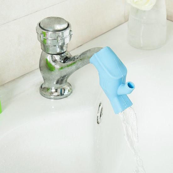●MY COLOR●兩用水龍頭延伸器 導水槽 洗手器 延伸器 導水 兒童 安全 洗漱 洗手 刷牙【K07-1】