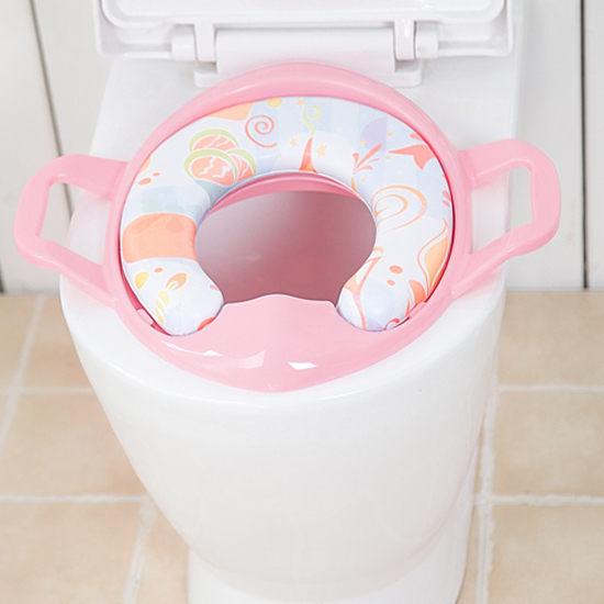 ●MY COLOR●】兒童扶手便座椅 學習馬桶 幼兒 便器 座墊 輔助 攜帶型 便盆 尿壺 小便斗【Q05】