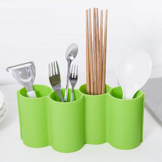 ●MY COLOR●創意造型瀝水收納盒 碗盤 杯子 筷子 湯匙 叉子 瀝乾 清潔 蔬菜 水果【G66-2】