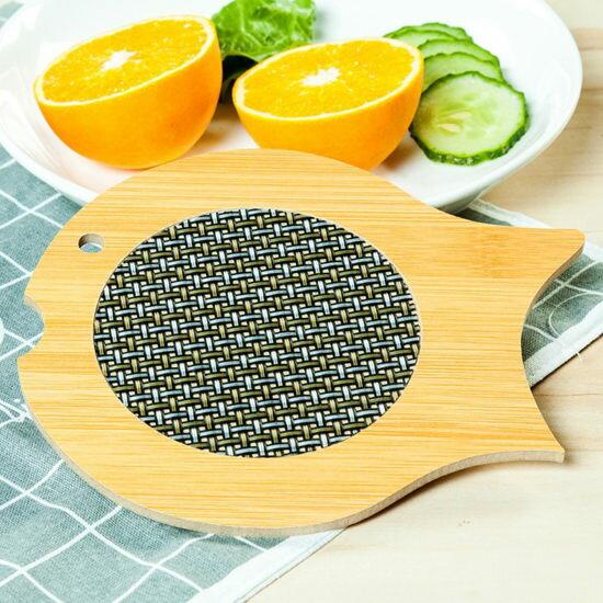 ●MY COLOR●竹木造型防燙餐墊 防燙 廚房 湯鍋 用餐 防滑 餐墊 杯墊 盤墊 保護【Q248-1】