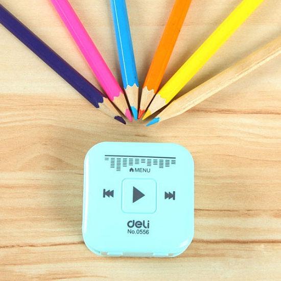 ●MY COLOR●音響造型削鉛筆器 學生 文具 辦公室 書寫 繪畫 兒童 旋轉 眉筆 工具【Q280】
