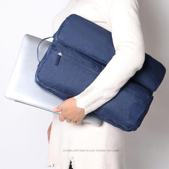 ●MY COLOR●15吋多功能防水電腦包 13吋 15吋 筆記型 電腦包 公文包 手拿包【Z67】