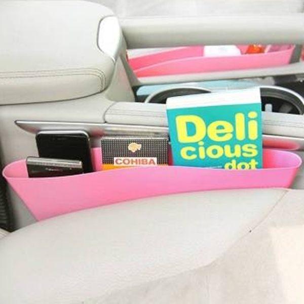 ●MY COLOR● 汽車收納箱 儲物箱 車用置物箱 座椅?隙 儲物盒 汽車用品 收納袋 【Z08】