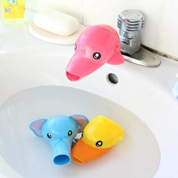 ●MYCOLOR●動物水龍頭延伸器水龍頭開關延伸器導水器兒童用品導水槽洗手器【L78-1】