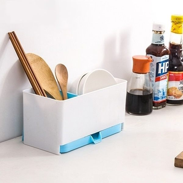 ~MY COLOR~廚房碗碟多 置物架 瀝水 碗筷 收納 筷子 筷籠 勺子 湯匙 叉子 防