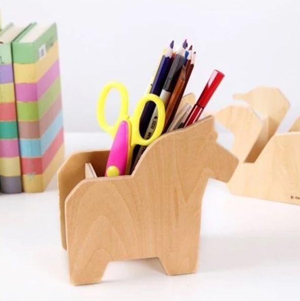 ●MY COLOR●動物造型桌面收納筆筒 文具 創意 多功能 學生 韓國 鉛筆 剪刀 繪畫【K68】