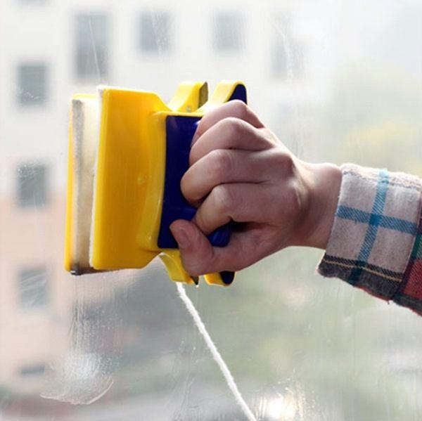 ●MYCOLOR●雙面磁性玻璃清潔器刮水清洗雙面擦衛生汙漬汙垢殘留刮水刮刀大掃除【Q126】