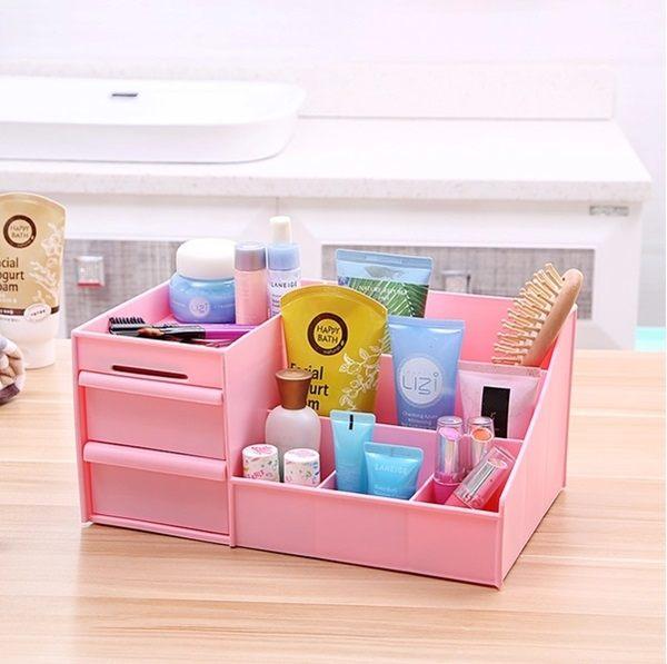 ~MY COLOR~ 抽屜式收納盒 桌面 整理 收納盒 化妝品 儲物 宅品 保養品 水洗