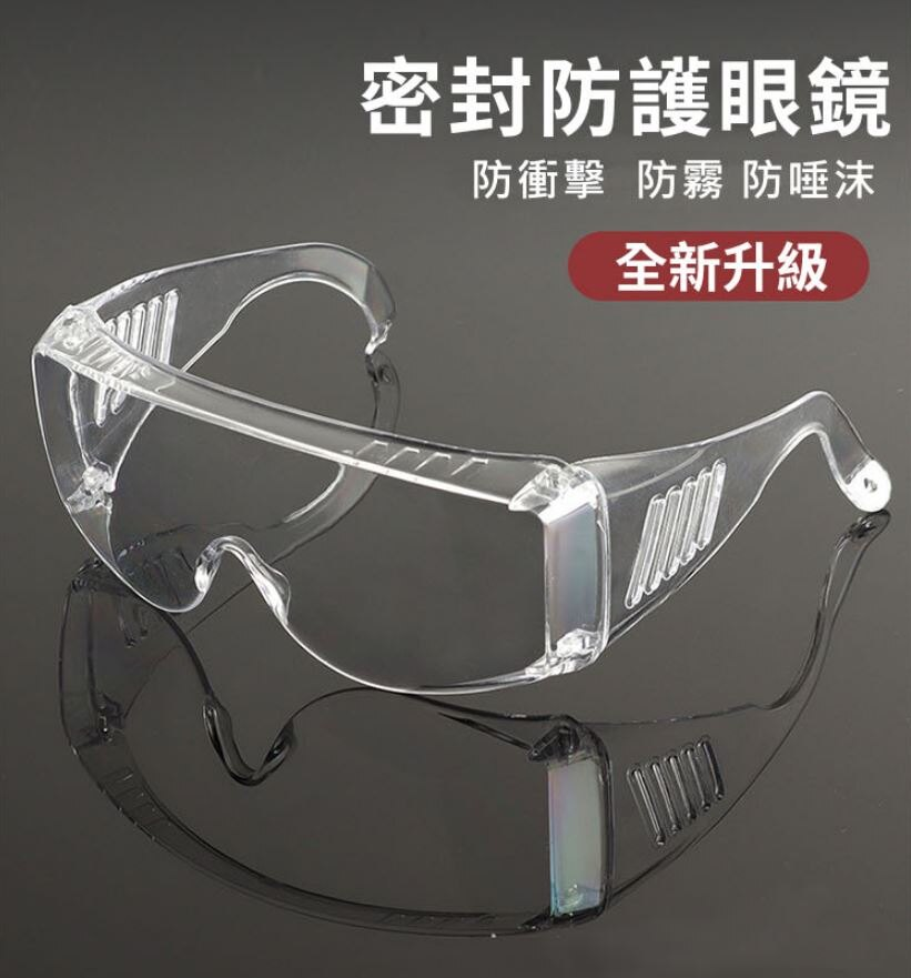 透明護目鏡-二代防霧版!防飛沫 防口水 防疫 防風沙 防灰塵 防護眼鏡 安全阻擋【AN SHOP】