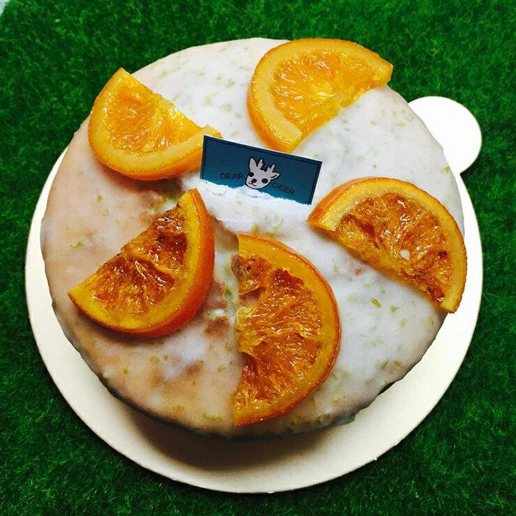 橙片檸檬糖霜磅蛋糕 6寸 手做蛋糕 生日蛋糕 慶祝 下午茶