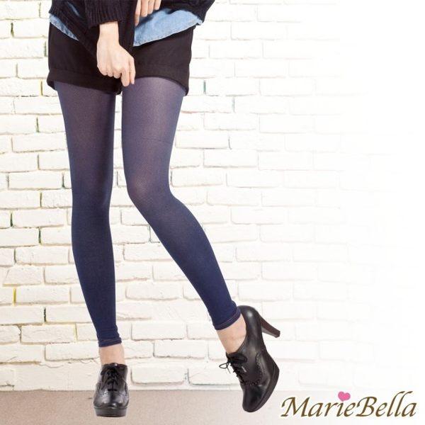 i style居家生活 MarieBella 120D高彈力牛仔九分褲襪 (藍)【KS12020】i-Style居家生活