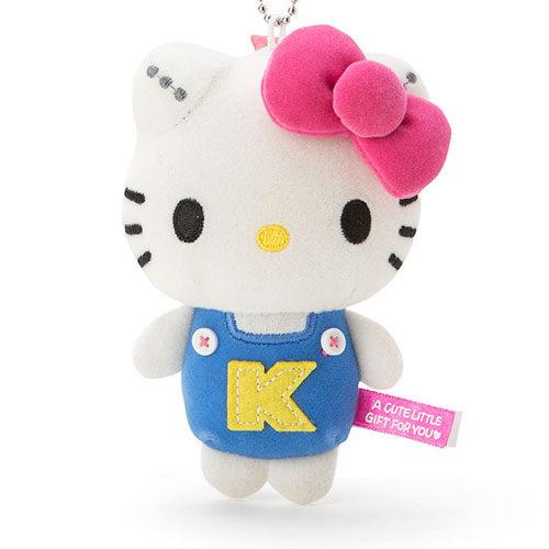 《Sanrio》日本代購 現貨 三麗鷗 玩偶珠鍊吊飾 【Kitty】 【快樂熊雜貨舖】