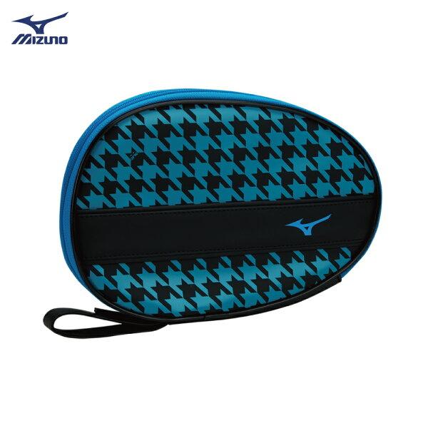 83JD800193(黑X藍)桌拍袋1支入裝【美津濃MIZUNO】