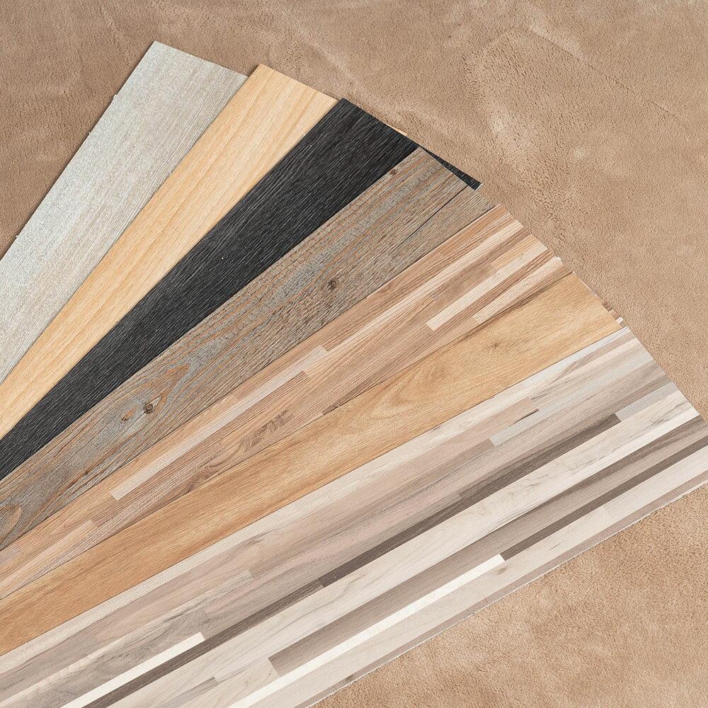 地板貼 MIT 仿木紋PVC自黏式DIY塑膠地板貼 24片入 阻燃防水耐磨地貼 壁貼 DIY裝修 台灣製【Q037-24】