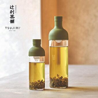 【辻利茶舗 x HARIO】酒瓶冷泡茶壺750ml (紅) 創新設計,高品質玻璃瓶身,附可拆式濾網,沖泡簡易,清洗方便。原廠公司貨。 3