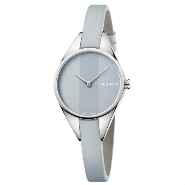 CK卡文克萊叛逆系列(K8P231Q4)小巧個性時尚腕錶藍面29mm