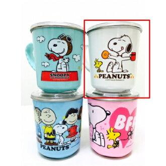 【真愛日本】16030900016 附蓋不銹鋼杯-甜點 史努比 Snoopy 保溫杯 不銹鋼杯 杯子 水杯 居家