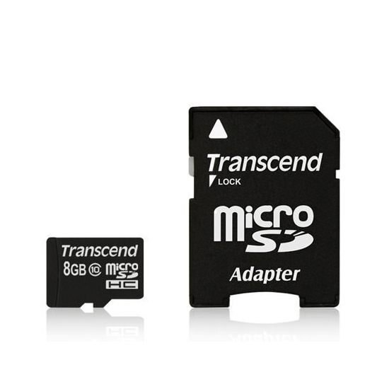 *╯新風尚潮流╭*創見 MicroSDHC記憶卡 8G 8GB C10 SD小卡 TS8GUSDHC10