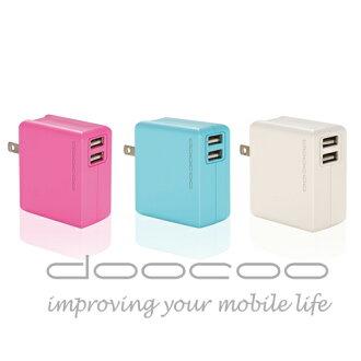 【doocoo】itofu3 3.4A 雙輸出USB快速充電器